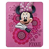Disney's Minnie's Bowtique, 'So Many Bows' Fleece Throw Blanket, 45' x 60', Multi Color