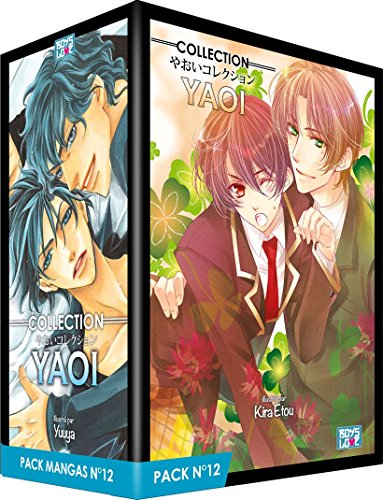 Boy's Love Collection - Pack n°12 - Manga Yaoi (5 tomes)