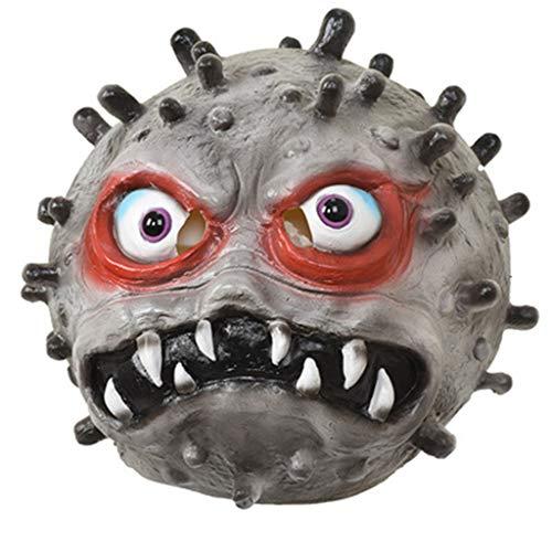 MISS YOU Maschere di Halloween Virus Maschera di Halloween Horror Coronavirus for Halloween Party