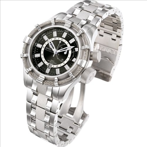Invicta Men's Signature Bolt 7250,Steel/Charcoal,US - http://coolthings.us