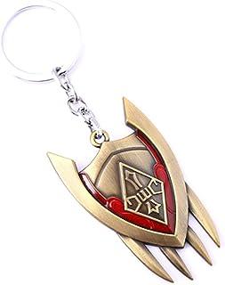LOL League of Legends Shyvana Shield Key Chain Pendant Game Souvenir