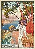 Poster-Reproduktion, Vintage-Reise Frankreich nach