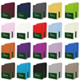 NatureMark 2er Pack MICROFASER Spannbettlaken, Spannbetttuch Doppelpack in vielen Größen und...