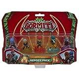 Gormiti Serie2 Pack de los Ultra Heroes, Personajes Principales de la Serie, Multicolor (Famosa...