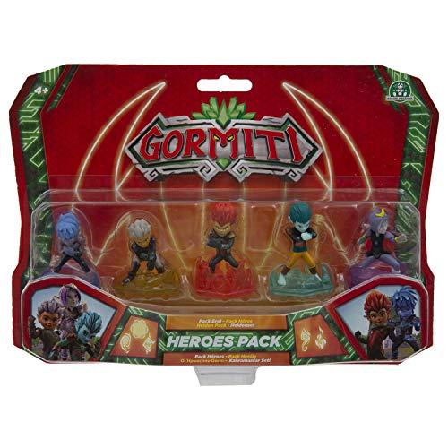 Gormiti Serie2 Pack de los Ultra Heroes, Personajes Principales de la Serie, Multicolor (Famosa GRE06000)
