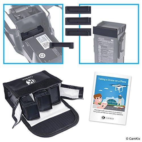 Paquete Seguridad Viajes CamKix Compatible dji Mavic