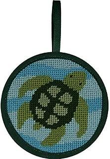 Alice Peterson Stitch-Ups Needlepoint Ornament Kit- Turtle
