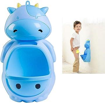 Blue 1 ALOVEMO Cartoon Children Potty Toilet Wall-Mounted Boys Urinal Trainer Bathroom Potties /& Seats