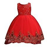 Vectry Ceremonia Niños Vestidos De Niña De Pique Moda Infantil Niña Disfraces Vestidos Niña 2 Años Vestidos Niña Online Vestidos para Niñas 12 Años Vestidos De Fiesta para Niñas Vestido Rojo