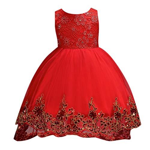 Vectry Niña Vestidos Niña 9 Años Disfraz Princesa Vestidos Niña 5 Años Ropa Niña Online Disfraces para Grupos Ropa De Ceremonia Niños Vestidos De Ceremonia para Niñas Vestidos Vestido Rojo