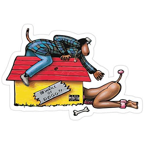 Hik kal Shop Doggystyle - Snoop Dogg 2 Stickers (3 Pcs/Pack)