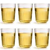 Libbey bicchiere da acqua Oyra - 320 ml / 32 cl - set di 6 pezzi - impilabile - lavabile in lavastoviglie - design moderno