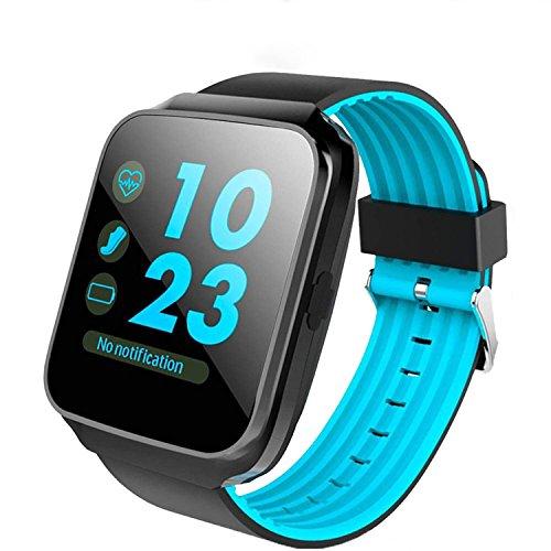 XHZNDZ Reloj inteligente Bluetooth con pantalla táctil de la cámara Reloj desbloqueado Smartwatch Reloj de pulsera inteligente Reloj deportivo de fitness para teléfonos Android IOS Iphone 7 7s Plus 6s