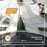 Zoom IMG-2 skandika tipii tenda campeggio indiana