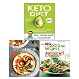 Keto Diet [Hardcover], The Skinnytaste Cookbook [Hardcover], The Big Book of Low-Carb Recipes 3 Books Collection Set