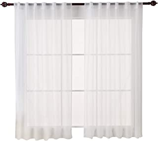 Best 63 inch curtains sheer Reviews