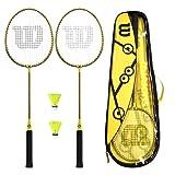 Best Wilson badminton racquet - Wilson Minions Badminton Racket Set - 2 Rackets Review
