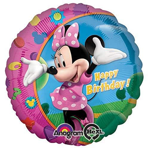 Bigiemme S.R.L., Balloon Minnie Fiocco Rosa
