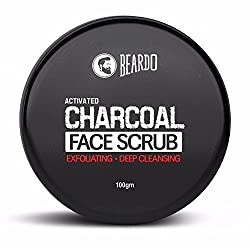 Mild Face Scrub ~ tips for mustache growth
