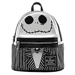 Loungefly x The Nightmare Before Christmas Jack Mochila de piel sintética para cosplay 2