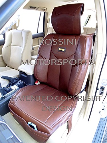 R – Fundas de Asiento de Coche para Fiat 500L, YMDX marrón, Rossini Sports