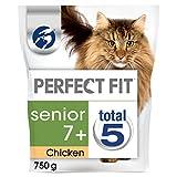 Perfect Fit Katzenfutter Trockenfutter Senior 7+ (3 x 750g)