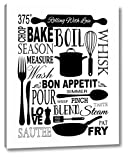 Culinary Love 1-2 by Leslie Fuqua - 19' x 24' Canvas Art Print Gallery Wrapped - Ready to Hang