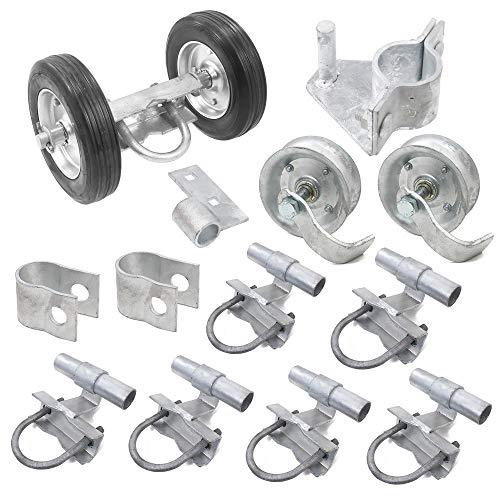 Rolling Gate Hardware Kit for Chain Link Sliding Gates