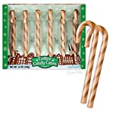 Accoutrements Novelty Christmas Candy Cane Gag Gift - Coffee Flavor - 6 Per Box