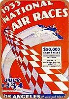 1933国立エアレースコレクション壁芸ブリキ看板