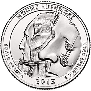 mount rushmore quarter 2013 d