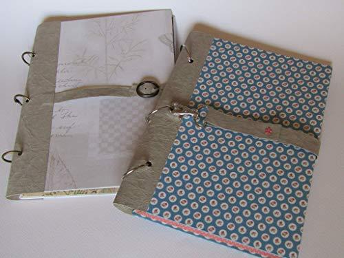 Notiz- und Sammelbuch für Rezepte, Fotos, Verse und alles, was sich in einem Buch sammeln lässt