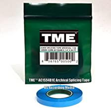 TME Open Reel Audio Splicing Tape Blue Color 1/4