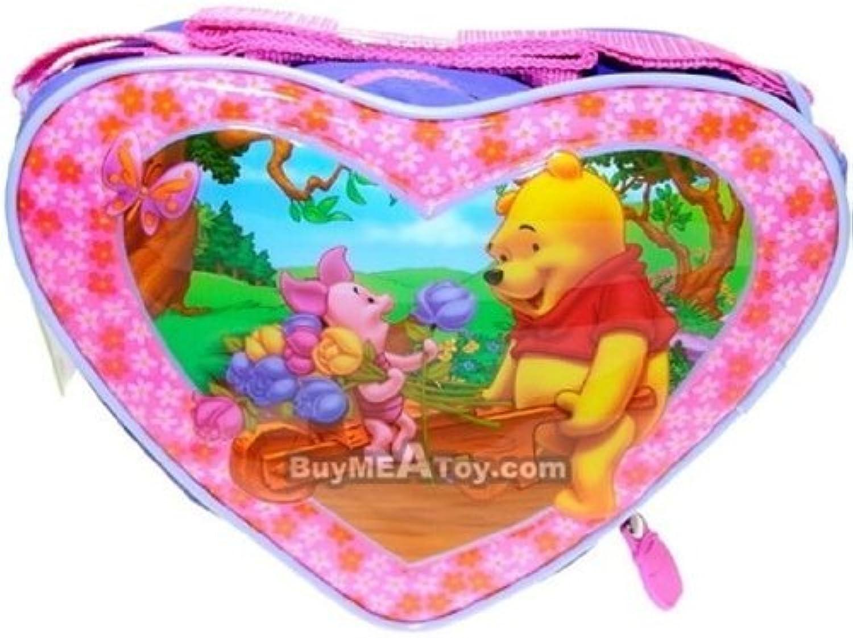 Lunch Bag  Disney  Winnie the Pooh  Heart Shape Kit Case New 184117