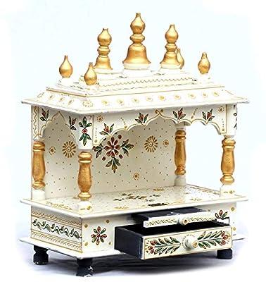 Kamdhenu art and craft Wooden Temple/Home Temple/Pooja Mandir/Pooja Mandap/Temple for Home from Kamdhenu art and craft