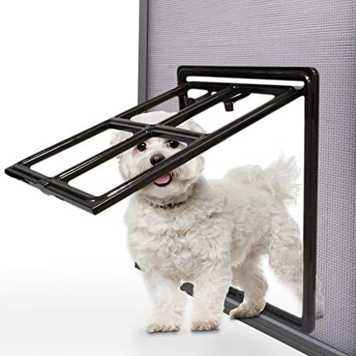 Hängend Hundeklappe Hundetür Haustierklappe katzengitter Terassentür Fenster für Bildschirme
