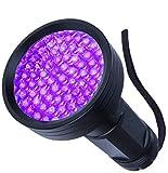 UV Flashlight Black Light, WJZXTEK 68 LED 395nm Ultraviolet Blacklight Detector for Dog Urine,Dry Stains,Bed Bug, Matching with Pet Odor Eliminator(Batteries Not Included)