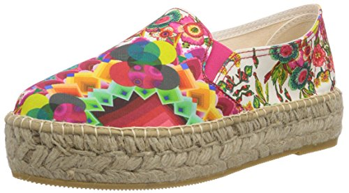 Desigual Shoes Mina, Espadrillas Basse Donna, Rosso (Rot (3037), 41