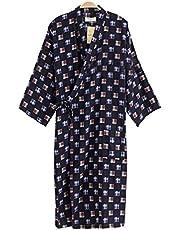 Blancho Bedding Pijamas de Kimono para Hombres Khan Ropa al Vapor Ropa de Baño para Hombre Kimono Robes