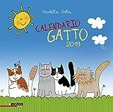 Notes Edizioni 2019 Calendario Gatto, 2 Pezzi
