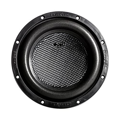 In Phase Car Audio XT-8 1000W 8' XT Series Peak Power Subwoofer, 2 Ohm Duel...