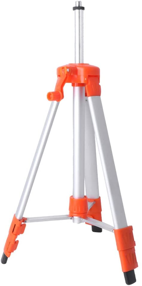1.5M//1.2M Universal Adjustable Aluminum Alloy Tripod Stand for Laser-Air-Level with Accurate Blister and Lifting Rocker