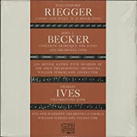 Riegger: Canon And Fugue / Becker: Concerto Arabesque / Ives: Thanksgiving - Sealed