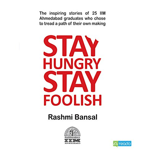 Stay Hungry Stay Foolish  audiobook cover art