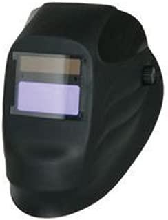 Radnor® Lite Black Welding Helmet With 90mm X 110mm Variable Shades 9 - 13 Auto Darkening Lens