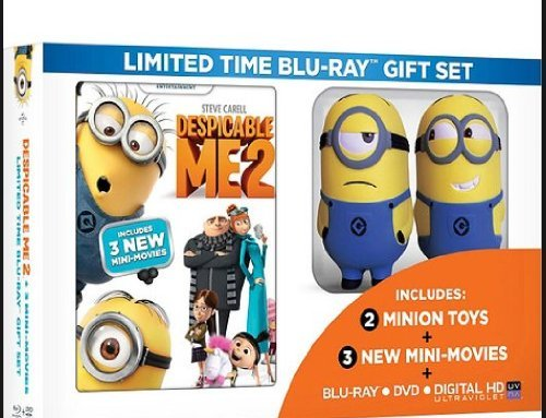 Despicable Me 2 Limited Time Gift Set With 2 Minion Toys & New Mini-Movies (Walmart Exclusive)(Blu-ray + DVD + Digital)