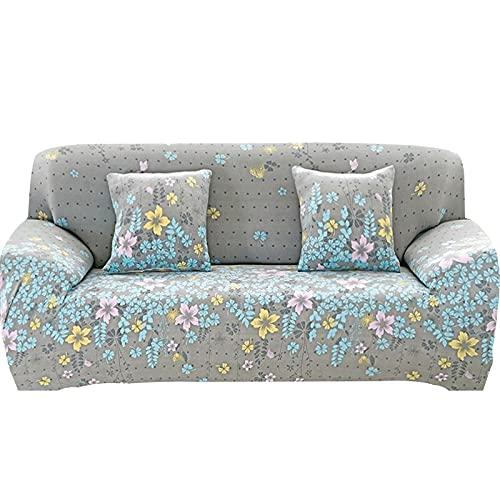 Funda de sofá elástica Fundas para sofá con Todo Incluido Funda de sofá para Diferentes Formas Sofá Loveseat Silla Estilo L Necesita 2 Funda de sofá A12 1 Plaza