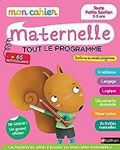 Mon cahier maternelle 2/3 ans - Toute Petite Section de Maternelle