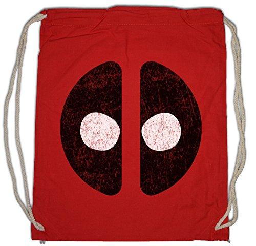 Urban Backwoods Mutant Mask Borsa da Palestra Sportiva Symbol Superhero Comic Movie Ryan Deadpool Reynolds
