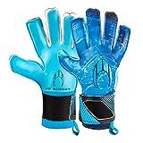 HO Soccer Premier Supremo II Roll/Negative Blue Guantes De Portero, Unisex Adulto, Azul/Negro, 10,5